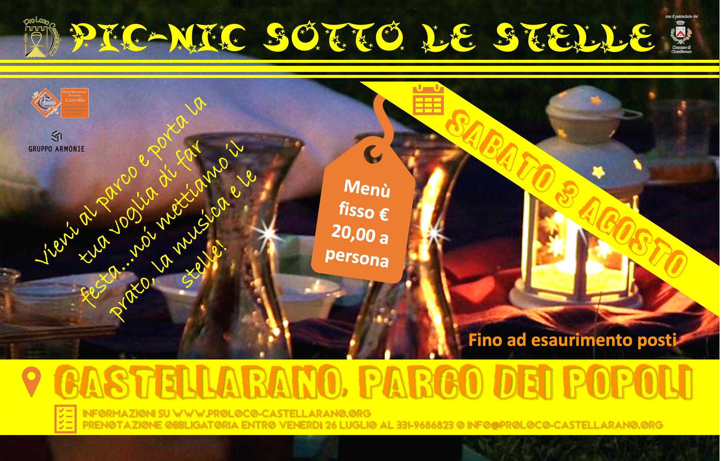 Pic-Nic sotto le Stelle